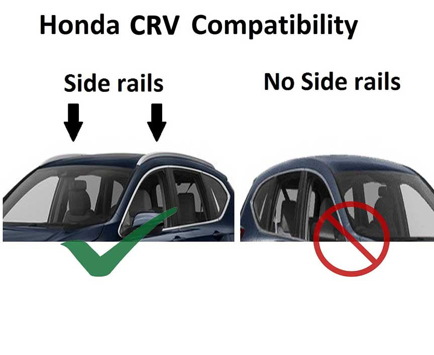 Brightlines Roof Rack Crossbars Replacement For Honda Crv 2012 2016