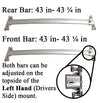 BrightLines Toyota Highlander Roof Rack Crossbars 2008-2013 - ASG AUTO SPORTS