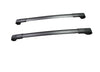 BrightLines Roof Rack Crossbars Ski Rack Combo for Subaru Crosstrek 2018-2020 (Up to 4 Skis or 2 Snowboards) - ASG AUTO SPORTS