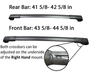 BrightLines Roof Racks Crossbars and Kayak Racks Combo Replacement For Subaru Forester 2014-2018 - ASG AUTO SPORTS