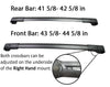 BrightLines Roof Racks Crossbars and Ski Snowboard Racks Combo Replacement For Subaru Forester 2014-2018 (4 pairs skis or 2 snowboards) - ASG AUTO SPORTS