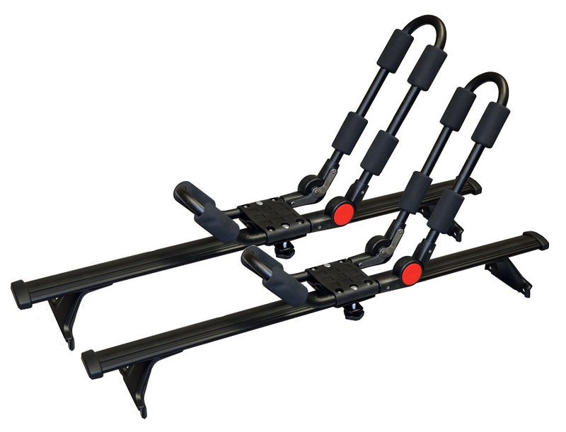 BrightLines Chevy Traverse Roof Racks Cross Bars Crossbars Kayak Rack Combo 2018-2020 - ASG AUTO SPORTS