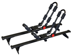 BrightLines Chevy Equinox Roof Rack Crossbars and Kayak Rack Combo 2018-2019 - ASG AUTO SPORTS