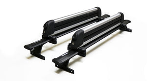 BrightLines Chevy Traverse Roof Racks Cross Bars Crossbars Ski Rack Combo 2018-2020 (4 pairs skis or 2 snowboards) - ASG AUTO SPORTS