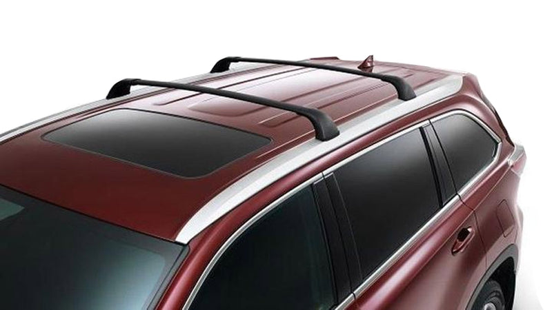 BrightLines Toyota Highlander XLE LIMITED SE Roof Rack Crossbars 2014-2019-USED - ASG AUTO SPORTS