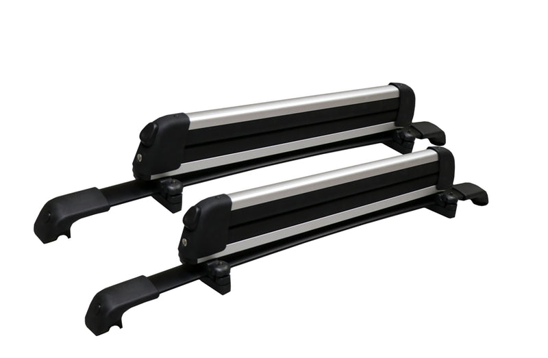 BrightLines Roof Rack Crossbars Ski Rack Combo Replacement For Hyundai Santa Fe 2013-2018 (Up to 4 Skis or 2 Snowboards) - ASG AUTO SPORTS