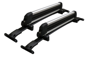 BrightLines Roof Rack Crossbars Ski Rack Combo Replacement For Ford Explorer 2016-2019 (Up to 4 Skis or 2 Snowboards) - ASG AUTO SPORTS