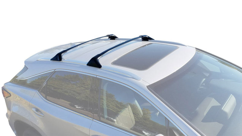 BrightLines Lexus RX350 RX450H Roof Rack Crossbars 2016-2019