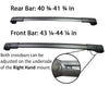 BrightLines Roof Rack Crossbars for Subaru Impreza 2012-2016 - ASG AUTO SPORTS