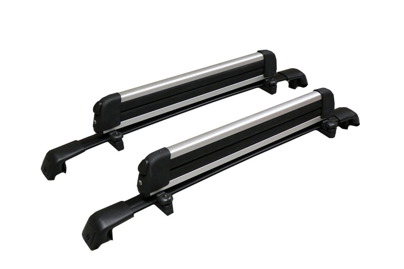 BrightLines Hyundai Tucson Roof Rack Crossbars Ski Rack Combo 2016-2020 (Up to 4 Skis or 2 Snowboards) - ASG AUTO SPORTS