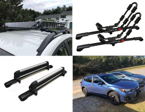 BrightLines Roof Rack Crossbars for Subaru Crosstrek 2018-2020 - ASG AUTO SPORTS