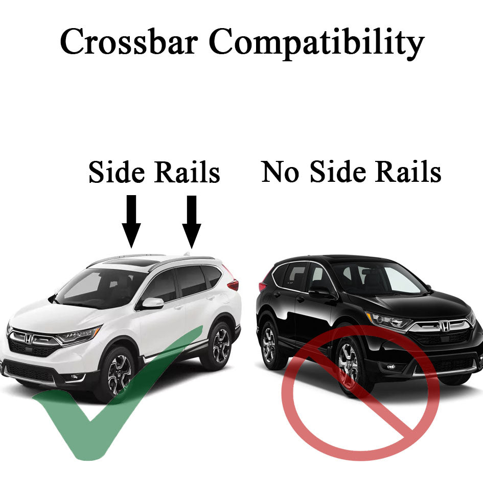 BrightLines Roof Rack Crossbars Compatible with 2017-2019 Honda CRV-New Condition - ASG AUTO SPORTS