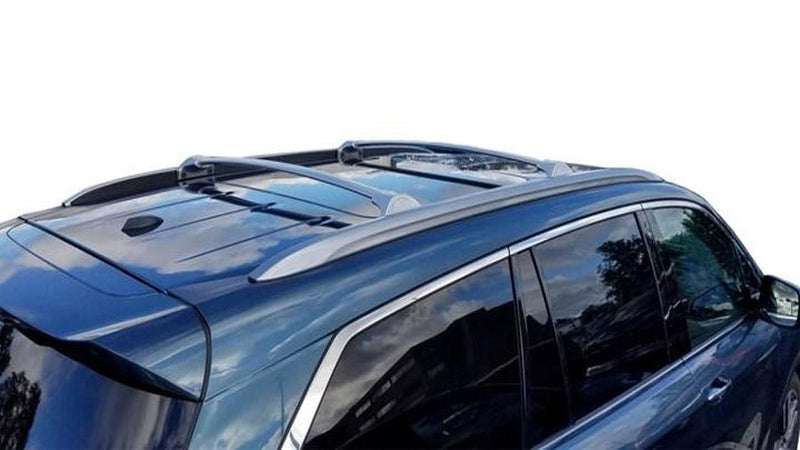 BrightLines Honda Pilot Roof Racks Cross Bars Crossbars 2016-2019 in Silver-USED