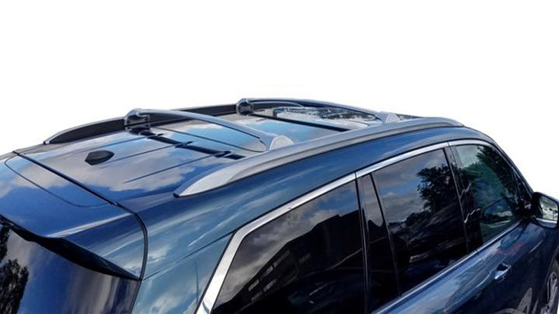 BrightLines Honda Pilot Roof Racks Cross Bars Crossbars 2016-2019 in Silver - ASG AUTO SPORTS