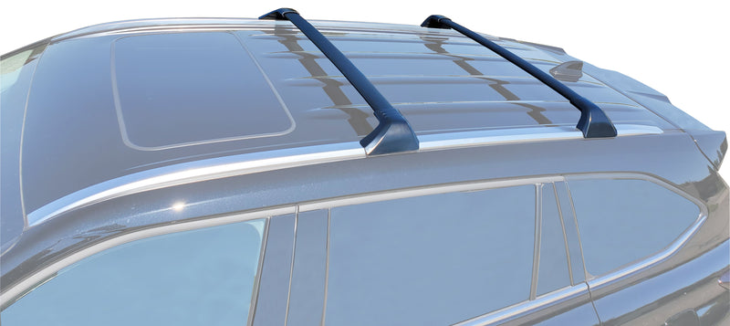 BRIGHTLINES Crossbars Roof Racks Compatible with Toyota Highlander 2020 2021 for Kayak Luggage ski Bike Carrier