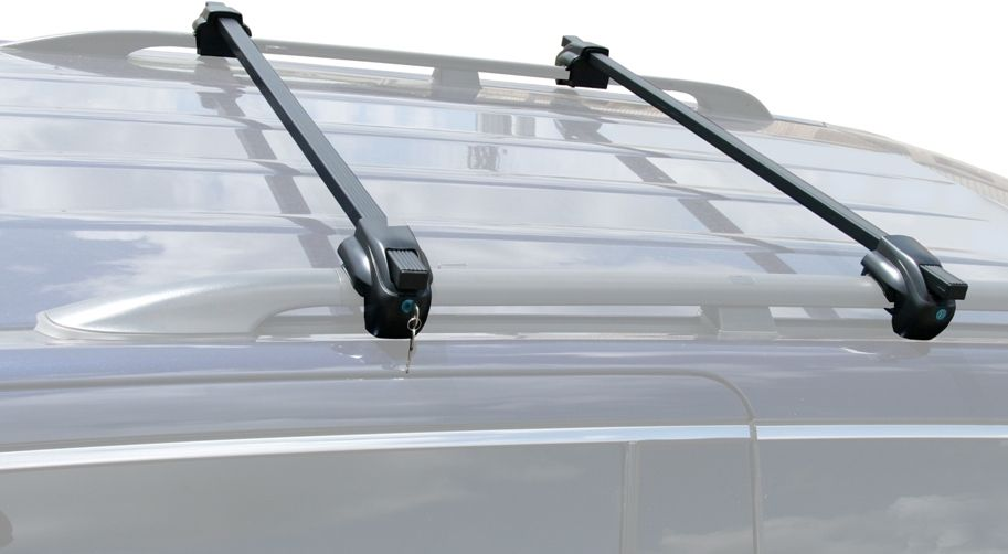 BrightLines VW Jetta Wagon Roof Rack Crossbars 2001-2014 Lockable Steel - ASG AUTO SPORTS