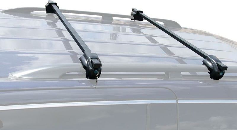 BrightLines Mercedes ML320 ML350 ML450 Roof Rack Crossbars 1998-2013 Lockable Steel - ASG AUTO SPORTS