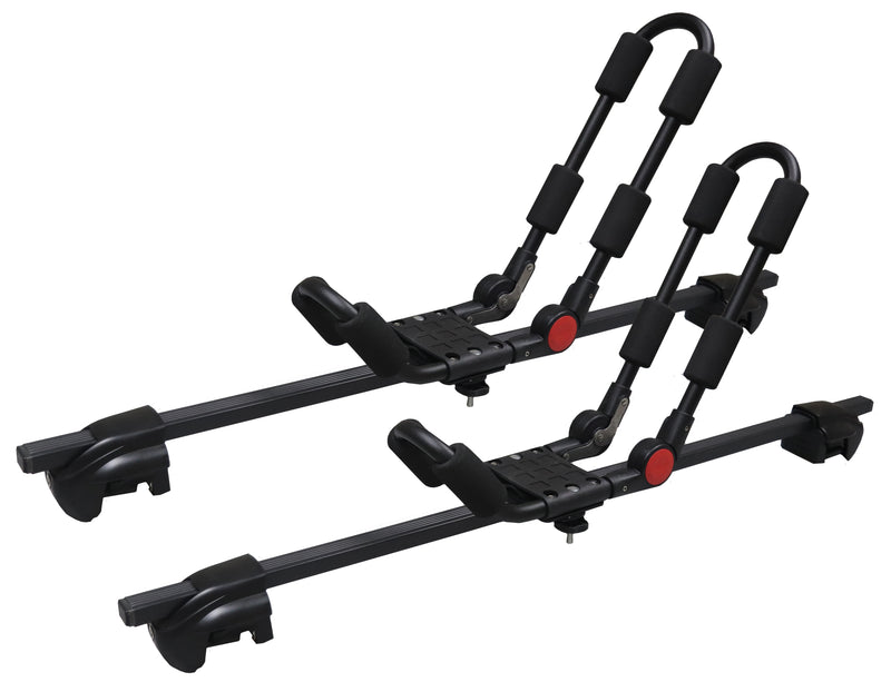 BrightLines Cadillac SRX Roof Rack Crossbars Kayak Rack Combo 2004-2009 Lockable Steel - ASG AUTO SPORTS