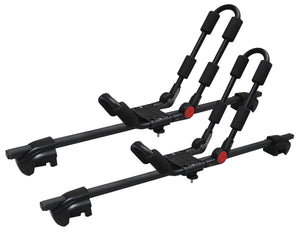 BrightLines Volvo V50 Roof Rack Crossbars Kayak Rack Combo 2005-2011 Lockable Steel - ASG AUTO SPORTS