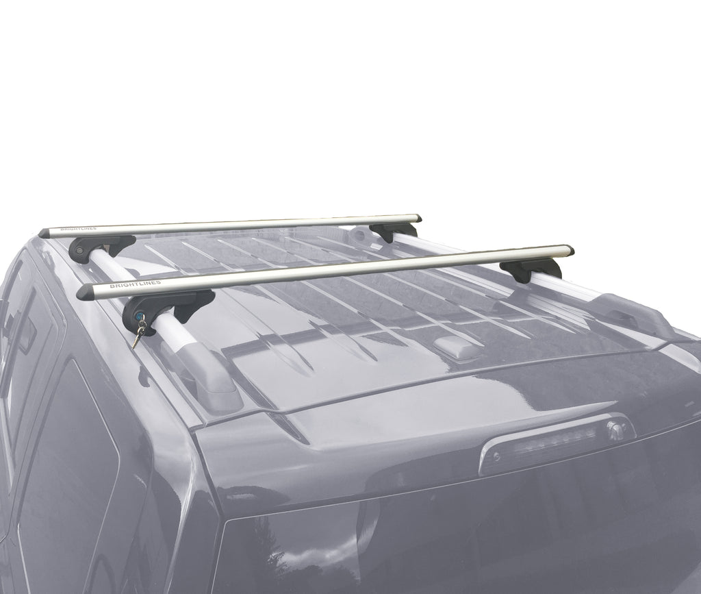 BrightLines Nissan Rogue Roof Rack Crossbars 2008-2019 - ASG AUTO SPORTS