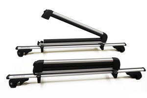 BrightLines Subaru Outback Roof Racks Crossbars Ski Rack Combo 1995-2009 - ASG AUTO SPORTS