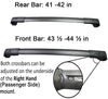 BrightLines Jeep Cherokee Roof Rack Crossbars 2014-2019 - ASG AUTO SPORTS