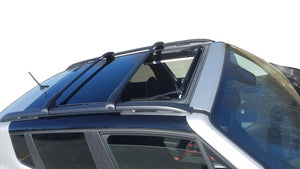 BrightLines Jeep Renegade Roof Rack Crossbars Ski Rack Combo 2015-2020 (Up to 4 Skis or 2 Snowboards) - ASG AUTO SPORTS