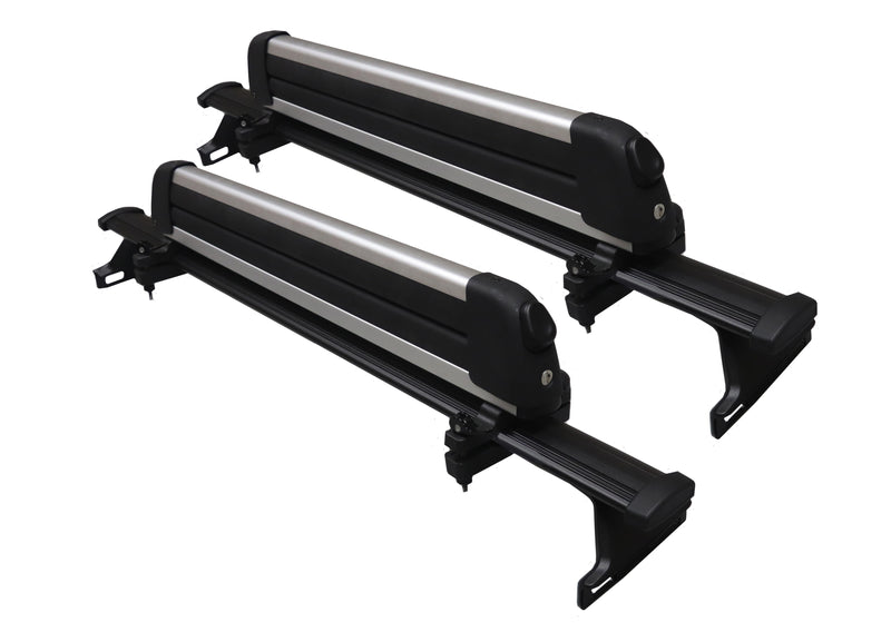 BrightLines Jeep Compass Roof Rack Crossbars Ski Rack Combo 2018-2019 - ASG AUTO SPORTS