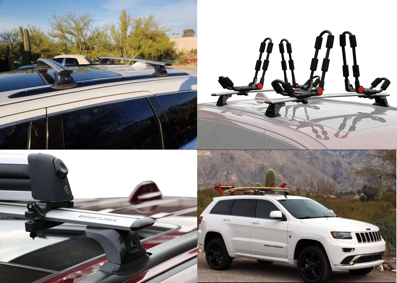 Brightlines Jeep Grand Cherokee Altitude Roof Rack