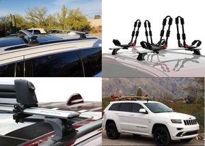 BrightLines Jeep Grand Cherokee ALTITUDE Roof Rack Crossbars 2011-2020 - ASG AUTO SPORTS