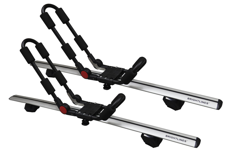 BrightLines Roof Rack Cross Bars Luggage Bars Kayak Rack Combo replacement for 2009-2019 Audi Q5 - ASG AUTO SPORTS