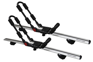 BRIGHTLINES Roof Rack Cross Bars Kayak Rack Combo Compatible with Buick Encore 2013-2020