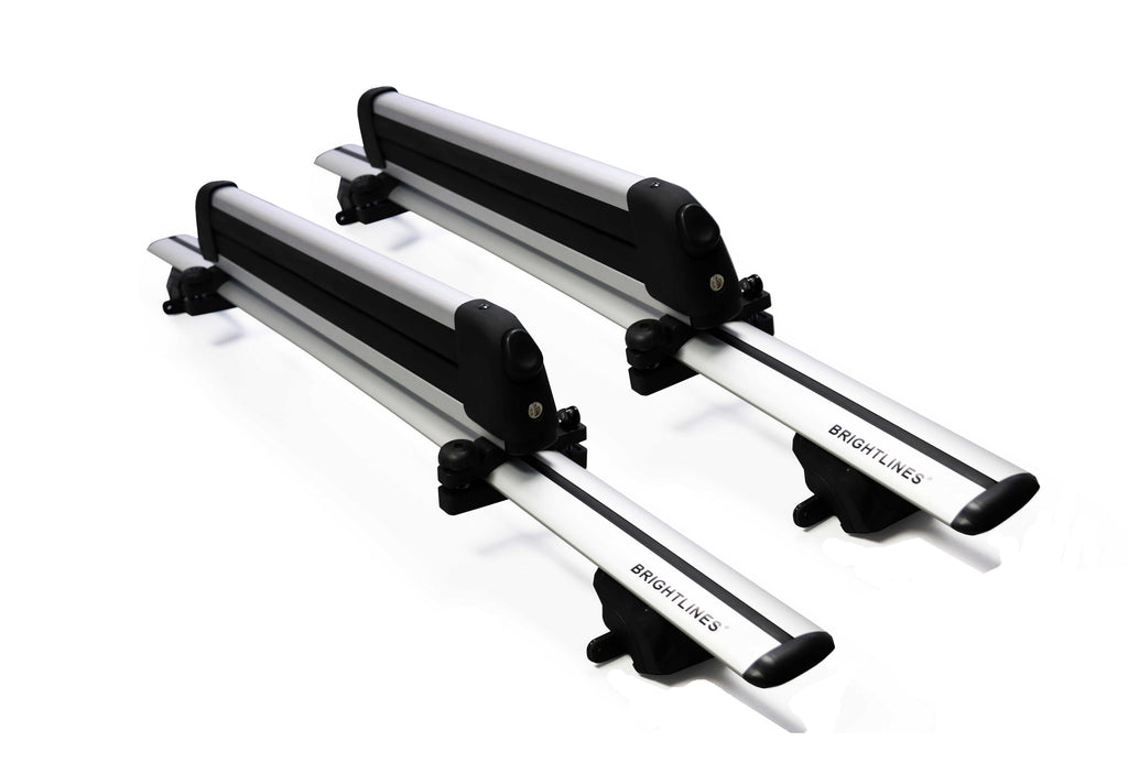 BRIGHTLINES Roof Rack Cross Bars Ski Rack Combo Compatible with Chevy Blazer 2019-2020 - ASG AUTO SPORTS