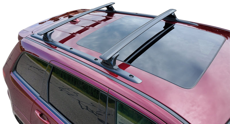 BrightLines Jeep Grand Cherokee ALTITUDE Roof Rack Crossbars 2011-2021