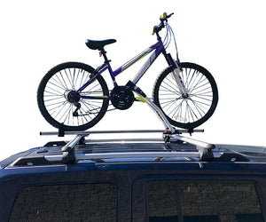BrightLines Hyundai Santa Fe Roof Racks Cross Bars Bike Rack Combo 2001-2006 - ASG AUTO SPORTS