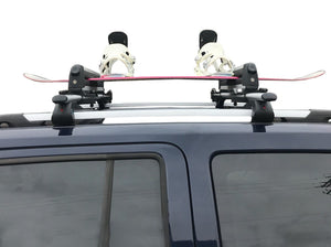 BrightLines Mercedes Benz GLK350 Roof Racks Cross Bars Ski Rack Combo 2010-2016 - ASG AUTO SPORTS
