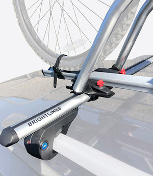 BrightLines BMW X5 Roof Racks Cross Bars Bike Rack Combo 2000-2013 - ASG AUTO SPORTS