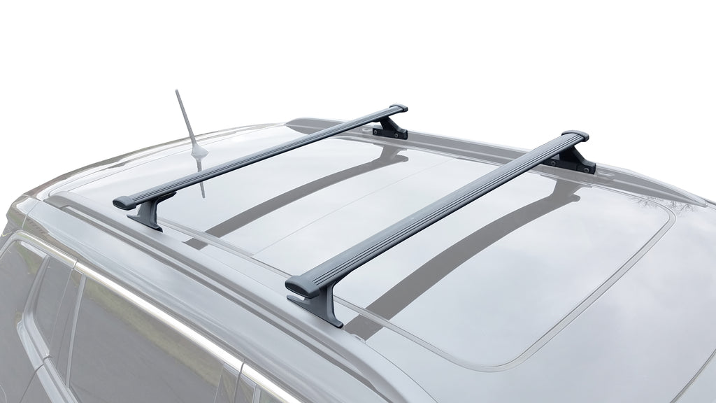 BrightLines Jeep Compass Roof Rack Crossbars 2018-2019 - ASG AUTO SPORTS