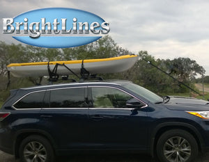 BrightLines Toyota Highlander XLE LIMITED SE Roof Rack Crossbars 2014-2019 - ASG AUTO SPORTS