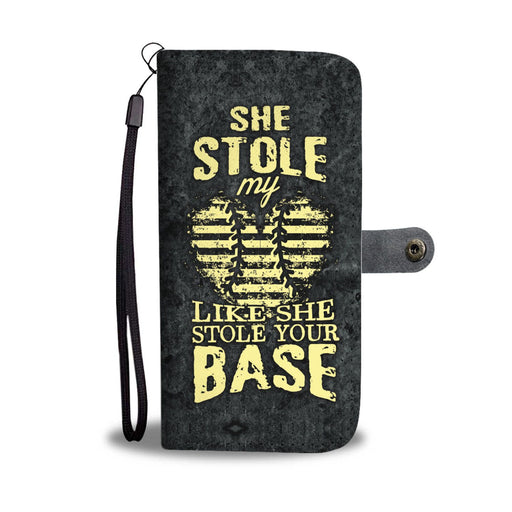 She Stole My Heart Baseball GoLux™ Wallet Case