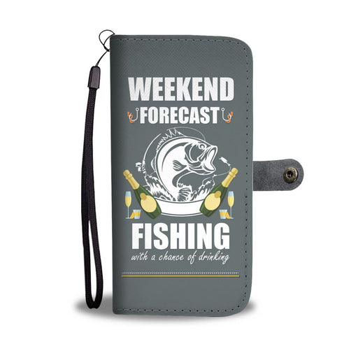 Weekend Forecast Fishing & Drinking GoLux™ Wallet Case