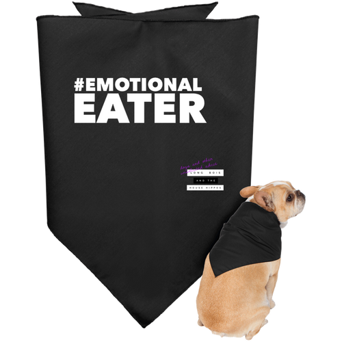 Emotional Eater Dark Doggie Bandana