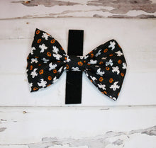 Ghosts & Pumpkins Bowtie/Headband