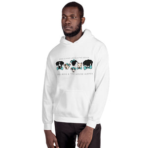 LONG bois & the House Hippos Hooded Sweatshirt