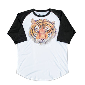 Home Run (Tiger) 3/4 Sleeve T-shirt