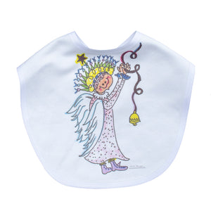 Sillybilly Angel Infant Bib
