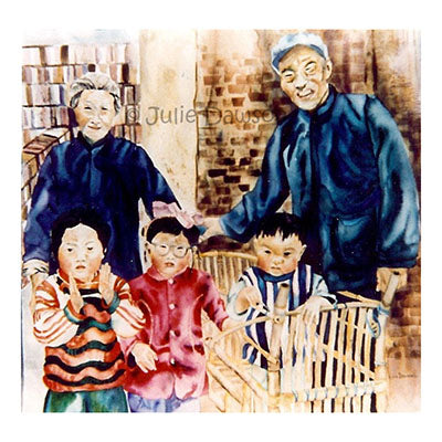 Chinese Family 38x38