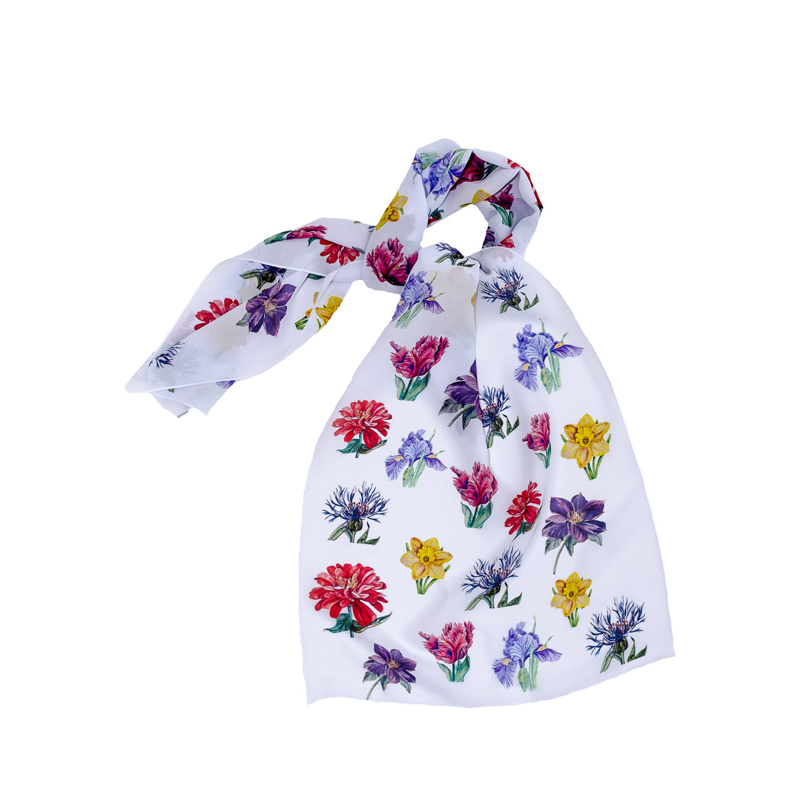 Flurry of Flowers Scarf