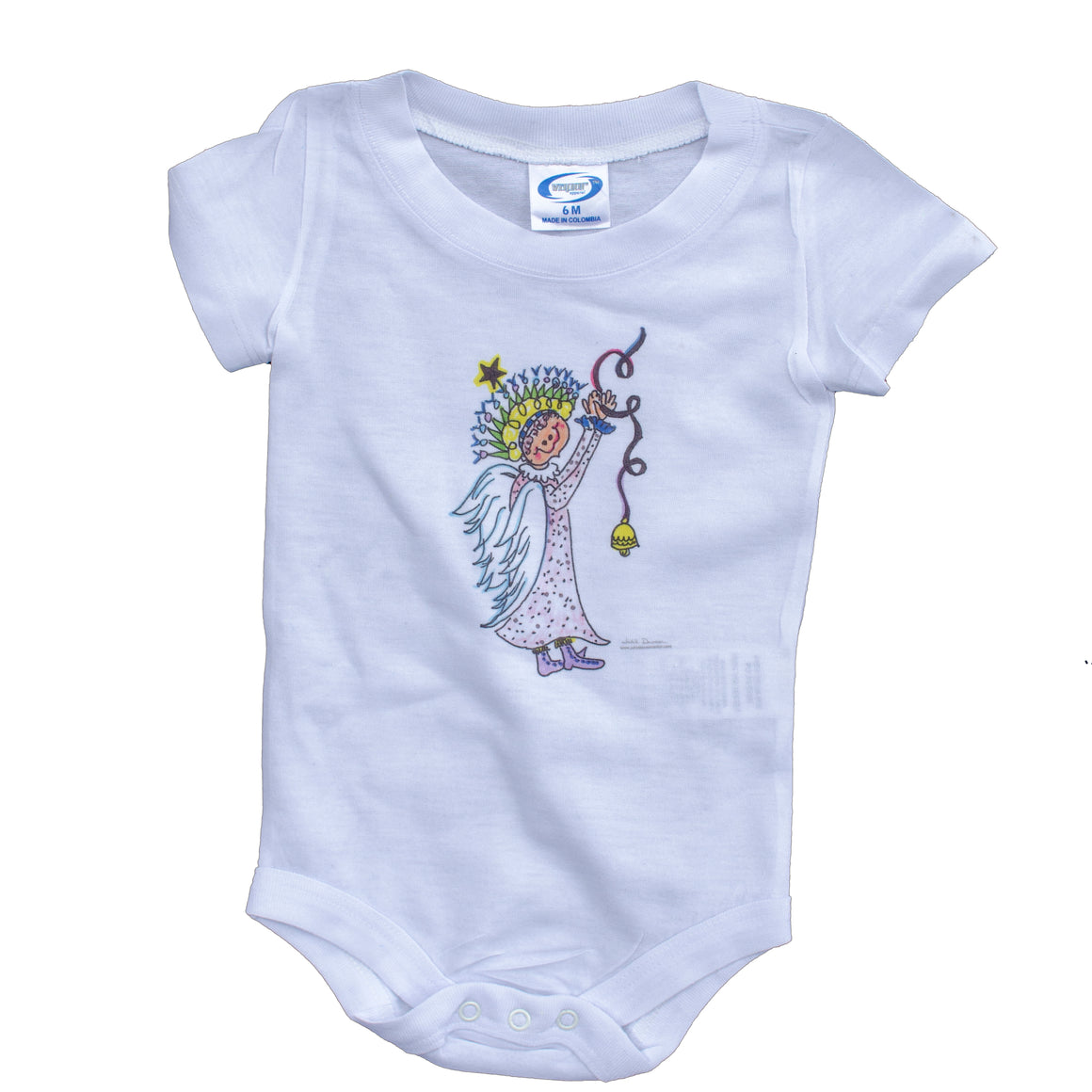 Sillybilly Angel Infant Bodysuit