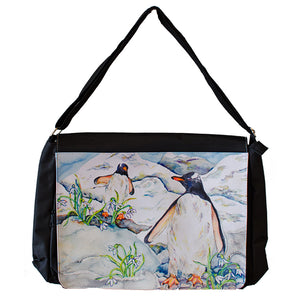 Discovering Snowflakes (Penguin) Bag